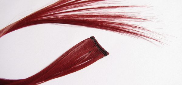 Proper Attachment Of Red Hair Extensions